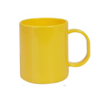 Personalised Polymer Full Color Mug 300ml - Yellow